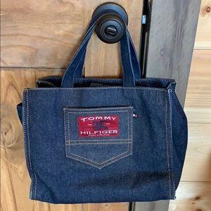 Tommy Hilfiger denim jean handbag/small tote